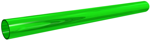 Medical Polyimide Tubing with green Polyimide Layer