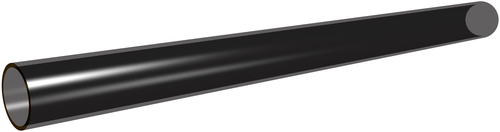 Medical Polyimide Tubing with black Polyimide Layer